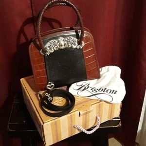 Vintage Brighton Chantilly Black purse